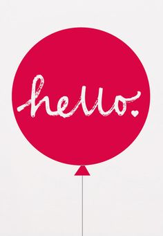 Showler and Showler Poster - Hello Ballon Geel (op=op) Quote Posters, Quote Prints, Boy Room, Kids Room, Drawing Wallpaper, Kids Wallpaper, Printed Balloons, Baby Kind, Mellow Yellow