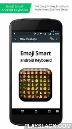 """Emoji Smart Android Keyboard  Android App - playslack.com , HOW TO ENABLE EMOJI SMART ANDROID KEYBOARD?• Enable the Input,First go to HOME -> Setting -> Language & Keyboard, and then check the Emoji Smart Android Keyboard to ENABLE it.• To use Keyboard, you need to change the input method.• Change the input method by holding the Text Box, and select the """"Input Method"""", then choose Emoji Smart Android Keyboard.ENJOY UNLIMITED FUN…Thanks For Downloading."""
