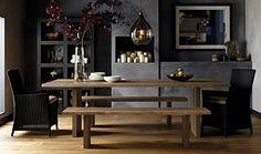 "Dakota 77"" Dining Table I Crate and Barrel"