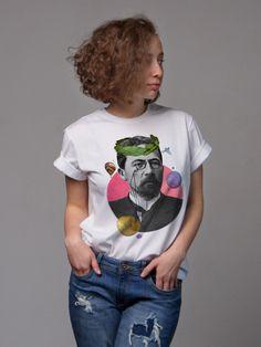 Студия Art-T-Shok - принты на футболки, майки, толстовки на заказ в Санкт-Петербурге, интернет магазин дизайнерских футболок, авторские принты