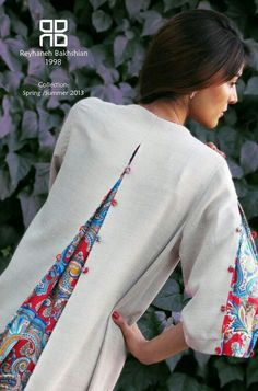 Crochet, animaux, travaux manuels, couture et recyclage Too small, here is the solution. Sewing Clothes, Diy Clothes, Clothes For Women, Remake Clothes, Kurta Designs, Blouse Designs, Hijab Fashion, Fashion Dresses, Casual Dresses