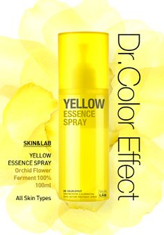 Skin / Dr. Color Effect Yellow Essence Spray by wishtrend