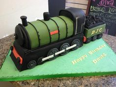 1000 Images About Train Cakes Non Cartoon On Pinterest