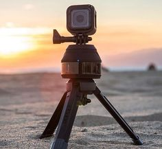 If you're into shooting panorama views and video shots pretty often with your GoPro, the Scenelapse can be a wonderful accessory for you. It is a rotating