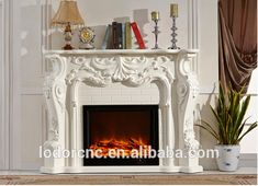 Wholesale french style decorative electric fireplace and mantel From m.alibaba.com Electric Fireplace With Mantel, French Style, Indoor, Home Decor, Interior, Decoration Home, Room Decor, Home Interior Design, Home Decoration