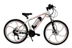 Aluminum alloy 26'',250W rear motor,Xiong BRAND,Lithium battery 36V/9Ah,samsung core,SHIMANO front 3 & rear 7 gears,for more information can look at http://www.cnelectricbike.com/product/2613/