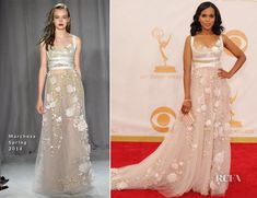 Kerry Washington In Marchesa – 2013 Emmy Awards.  My second favorite.  I don't know.  It just works for me.