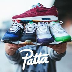 @patta nl x @nike Air Max 1 @flashbackzhh / @filippoonofri #Patta #Parra #AM87 #Amsterdam #nicekicks #followback #sneakerfiles