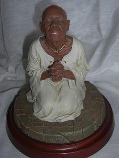 The Prayer By Thomas Blackshear African American Figurines, African American Art, Thomas Blackshear, Black Figurines, Black Is Beautiful, Black Art, Love Art, Prayers, Art Deco