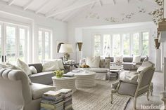 Modern french country living room decor modern french style living room country style living home design . French Living Rooms, French Country Living Room, Coastal Living Rooms, Home And Living, Modern Living, Country French, Living Room Decor Country, Living Room Grey, Country Decor