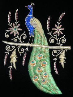 zardosi peacock