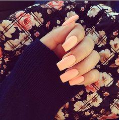 Lengthy orange nails <3 #nails #orange #long #acrylic