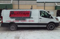And off she goes. Another successful van wrap. (Don't look like a predator - put some graphics on that unmarked van!)