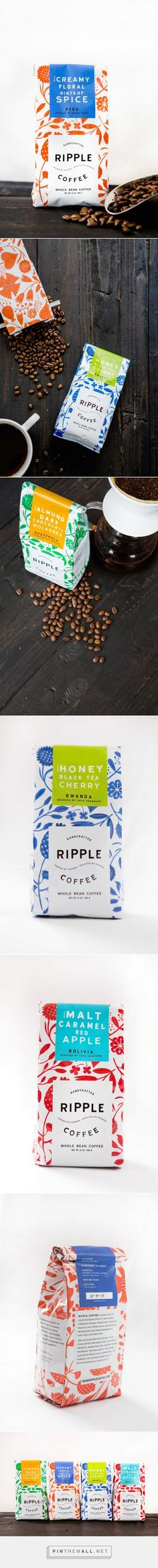 Ripple Coffee by Design Womb. Pin curated by #SFields99 #packaging #design