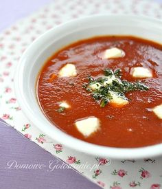 Soup Recipes, Snack Recipes, Snacks, Calzone, Chana Masala, Cheeseburger Chowder, Mozzarella, Feta, Chili