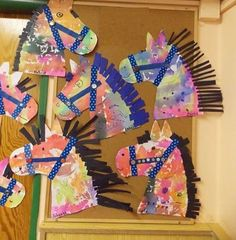 Horse craft idea for preschoolers After a fun day of spring party& horse theme crafts, this afternoon I set up one final craft for . Farm Animal Crafts, Farm Crafts, Vbs Crafts, Daycare Crafts, Camping Crafts, Toddler Crafts, Crafts For Kids, Western Crafts Kids, Horse Crafts Kids