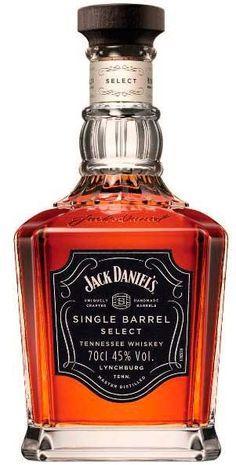 Single Barrel by Jack Daniel's Jack Daniels Gift Set, Jack Daniels Bottle, Jack Daniels Single Barrel, Whisky Jack, Jack Daniel's Tennessee Whiskey, Alcohol Bottles, Liquor Bottles, Scotch Whiskey, Bourbon Whiskey
