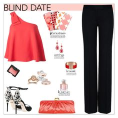 """""""Blind Date"""" by atelier-briella ❤ liked on Polyvore featuring Saloni, STELLA McCARTNEY, Dolce&Gabbana, Coach, NARS Cosmetics, Guerlain, cute, chic, Elegant and iPhonecases"""