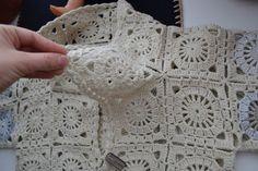 Crochet jacket diagram 35 New Ideas Blouse Au Crochet, Crochet Bolero Pattern, Gilet Crochet, Black Crochet Dress, Crochet Wool, Easy Crochet Patterns, Crochet Cardigan, Crochet Shawl, Crochet Stitches
