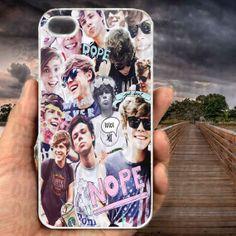 Ashton Irwin 5sos Collage-iPhone cases 4/4S Case iPhone 5/5S/5C Case Samsung Galaxy S3/S4 Case