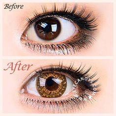 colored eye contacts Shop our large selection of brown & hazel circle lenses and color contact lenses. From luscious chocolate to warm caramel brown, we have every shade you need t Prescription Colored Contacts, Colored Eye Contacts, Grey Contacts, Color Contacts, Brown Contact Lenses, Cosmetic Contact Lenses, Coloured Contact Lenses, Circle Lenses, Smokey Eyes