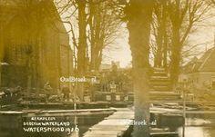 0672: Watersnood van 1916, Kerkplein