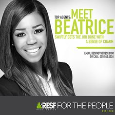 RESF'S Meet Agent Campaign Beatrice Espady