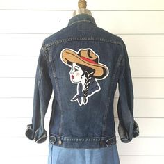 The Cowgirl Chain-Stitch Embroidered Back Patch