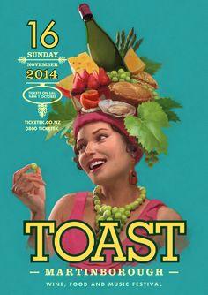 Toast Martinborough - The Art of Tom Simpson