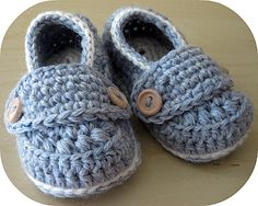 """Free Baby Oxford Loafer Pattern 