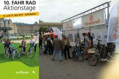 16. + 17.05.2015 Stuttgarter Fahrrad Aktionstage und RadSTERNFAHRT BW | Besuchen Sie uns auf unserem Stand | Stromrad Probefahrten und Beratung rund um das Thema elektrische Mobilität auf zwei Rädern | Pedelecs, e-Bikes, Elektrofahrräder.
