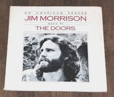 Jim Morrison with The Doors  An American Prayer LP Vinyl Elektra butterfly label