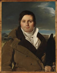 Jean Auguste Dominique Ingres (French, 1780–1867). Joseph-Antoine Moltedo, ca. 1810. The Metropolitan Museum of Art, New York. H. O. Havemeyer Collection, Bequest of Mrs. H. O. Havemeyer, 1929 (29.100.23)