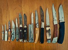 stunning knife collection from Whole Larder Love