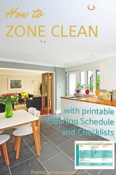 Keep track of how often you clean and how often you want to clean items around your house using the FREE zone cleaning schedule printables and zone cleaning checklist. Zone Cleaning, Cleaning Quotes, Cleaning Recipes, Cleaning Hacks, Cleaning Schedule Printable, House Cleaning Checklist, Clean House Schedule, Cleaning Schedules, Cleaning Supply Storage