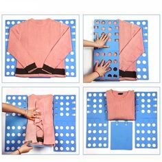 Magic Easy Speed Folder Clothes Pants Towel Folding Flip Fold Board – Zuper Smart