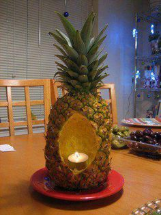 good use for a pineapple carcus :)