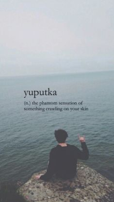Yuputka (n) the phantom sensation of something crawling on your skin Unusual Words, Weird Words, Rare Words, Unique Words, Great Words, New Words, Beautiful Words, One Word Quotes, Foreign Words
