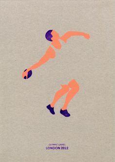 OLYMPIC GAMES 2012 by Valentina Ascione, via Behance