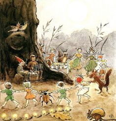 Illustration d'Elsa Beskow
