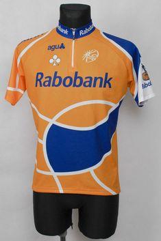 Team Rabobank Gelbes Rad-trikot AGU Gr. L UCI Pro Tour Cycling-Jersey  Yellow  0ceb4edce