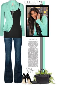 Cute... And the blazer is actually affordable at $35 ;)