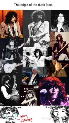 It was Jimmy page of led Zeppelin, not Kim Kasrdashian
