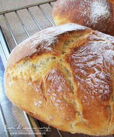 Aceasta este o reteta de paine casa despre care pot spune ca e una din cele mai bune din cate am incercat. Reteta de paine de casa cu cartofi...