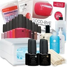 ohhhh no I didn't!! yes! yes, I did! Just got the entire starter kit to do my own Shellac manicure :)