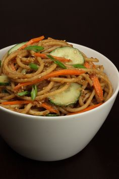 Make the same fresh and tasty sesame peanut noodles you've had at your favorite Chinese restaurant, using ingredients from trader joe's