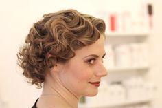 Frisur der 20er Jahre Wasserwelle Vintage Hairstyling