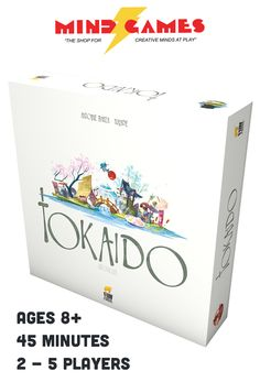 "In Tokaido, each player is a traveler crossing the ""East sea road"", one of the most magnificent roads of Japan. While traveling, you will meet people, taste fine meals, collect beautiful items, discover great panoramas, and visit temples and wild places, but at the end of the day, when everyone has arrived at the end of the road you'll have to be the most initiated traveler – which means that you'll have to be the one who discovered the most interesting and varied things."