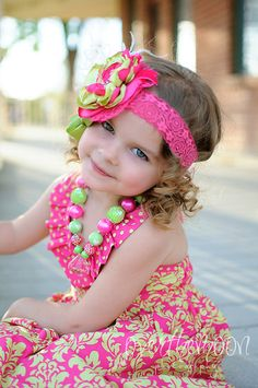 etsy bubblegum necklace for girls | - Bubblegum Beaded Necklace - Little Girl Necklace - Chunky Necklace ...