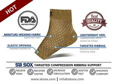 Amazon.com: SB SOX Compression Foot Sleeves for Men & Women - BEST Plantar Fasciitis Socks for Plantar Fasciitis Pain Relief, Heel Pain, and Treatment for Everyday Use with Arch Support (Nude, Medium): Sports & Outdoors Mens Sleeve, Heel Pain, Plantar Fasciitis, Pain Relief, Amazing Women, Arch, Socks, Outdoors, Nude